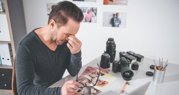 7 erros comuns ao criar um site de fotógrafo