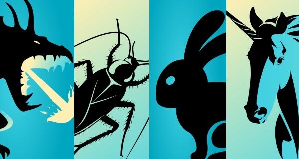 Sua startup é do tipo dragão, barata, coelho ou unicórnio? Descubra!